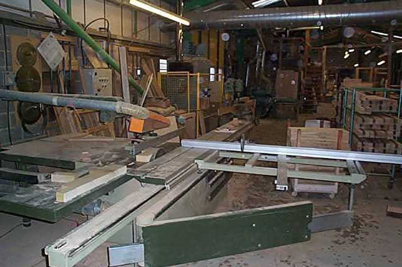 Gowercroft first timber window workshop