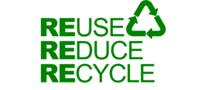 reduce, reuse, recycle logo gowercroft joinery