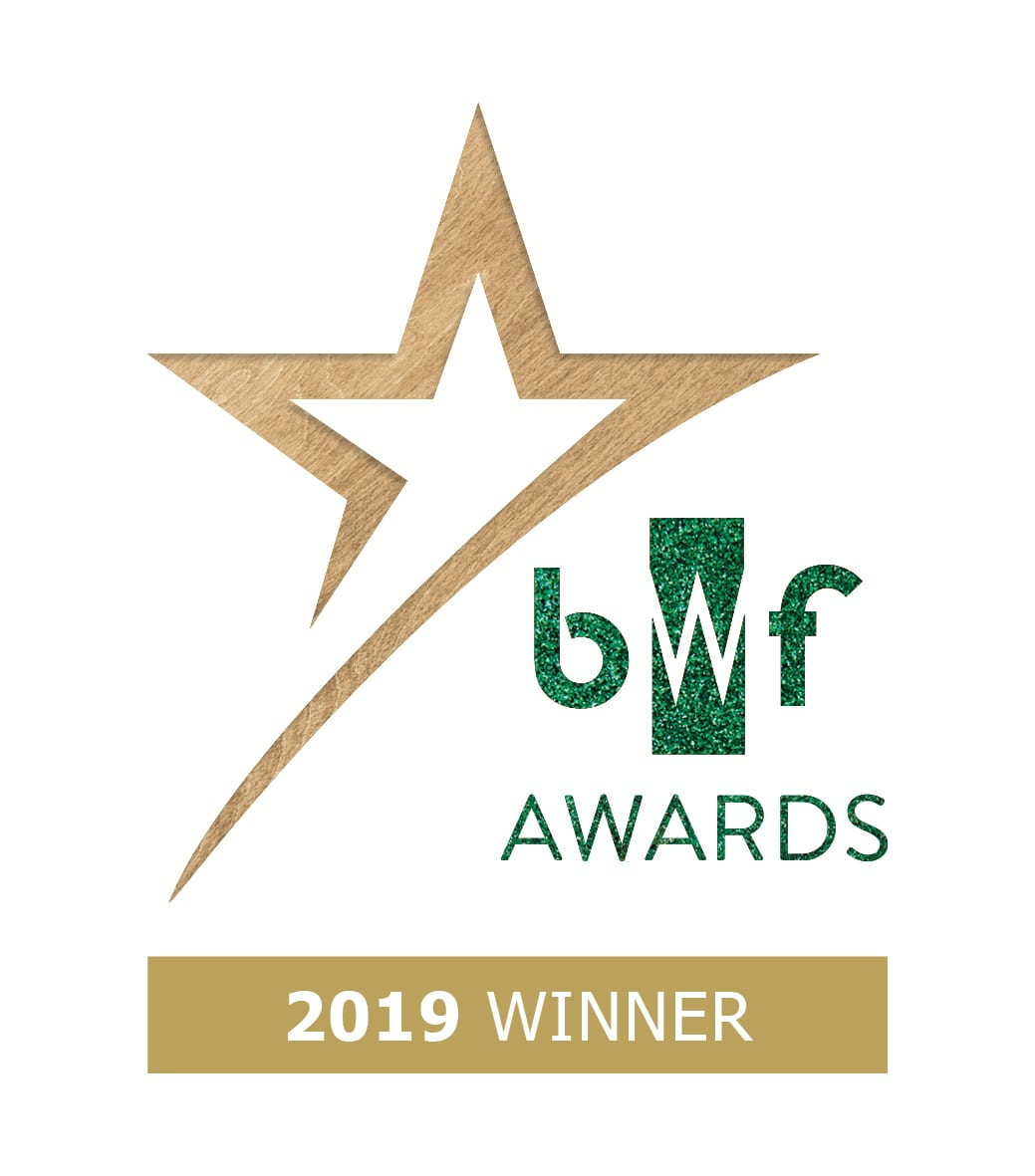 BWF Awards winner logo