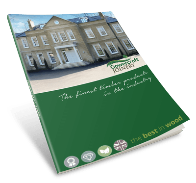 Gowercroft timber windows and doors brochure cover