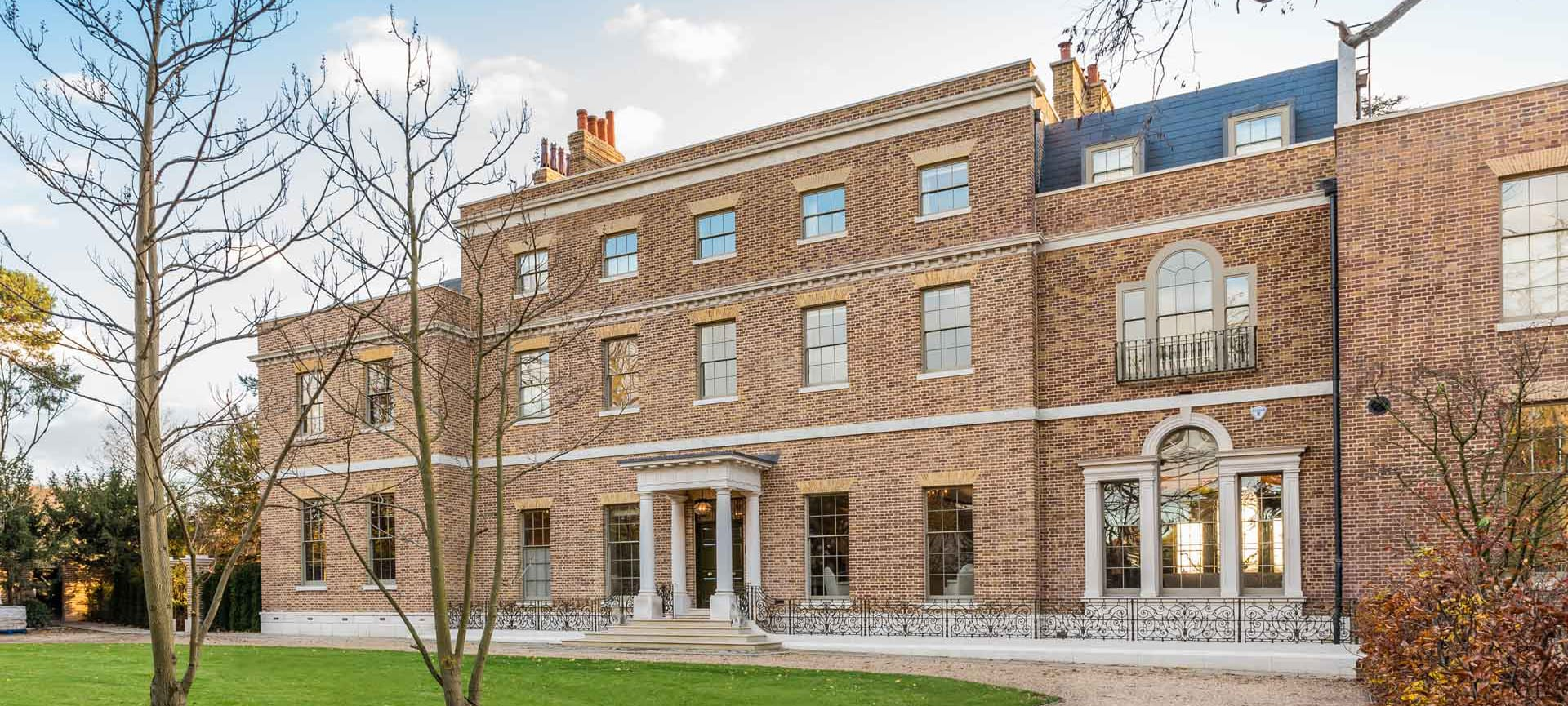 Templeton House where Gowercroft installed Heritage Windows which won numeruous industry awards