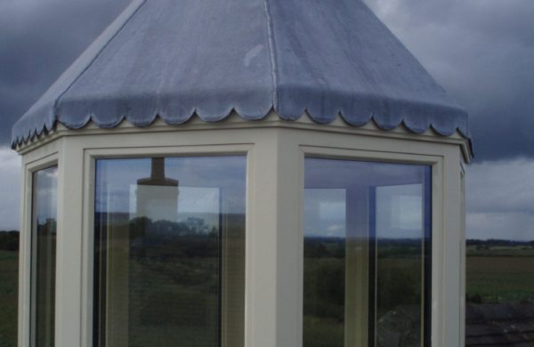 A roof lantern cuppola made from sustainable wood