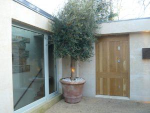 Wooden door and sliding door fitted to London Property