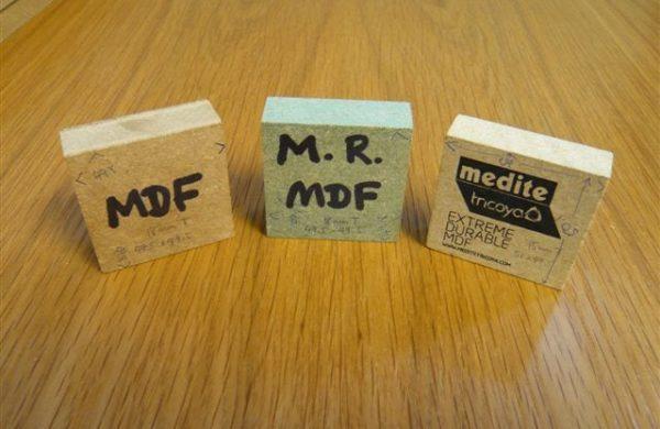 Different types of Medite mdf