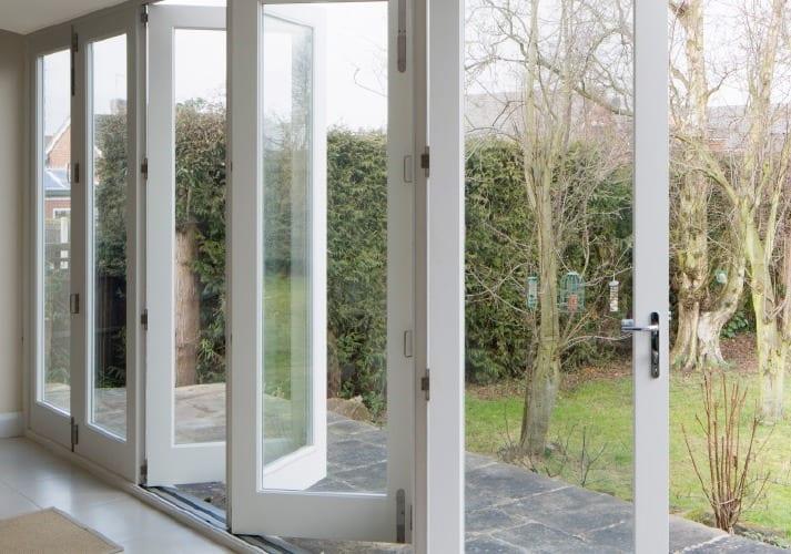 The Tutbury Bifolding door