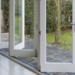 Bifold wooden doors by Gowercroft Joinery