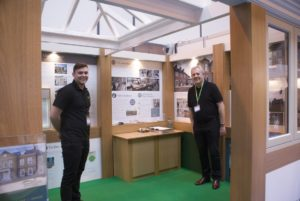 Gowercroft team on the stand at the show