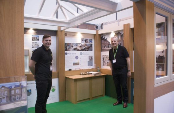Gowercroft team at a trade stand