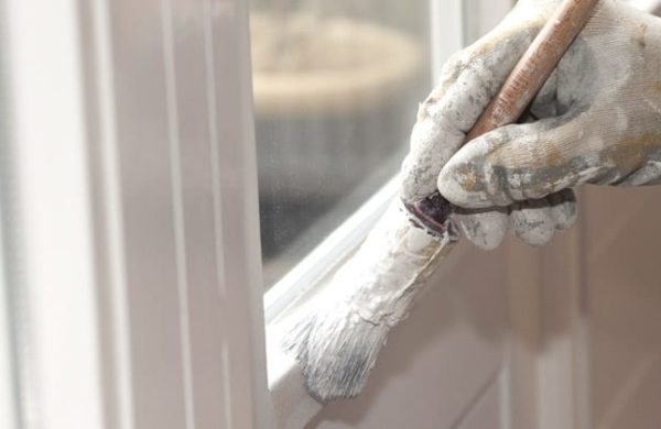 Painting wooden windows for longer life