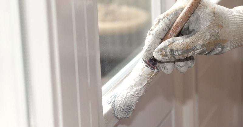Painting wooden windows for longer life