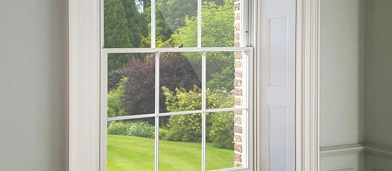 The Winston Heritage sliding sash window