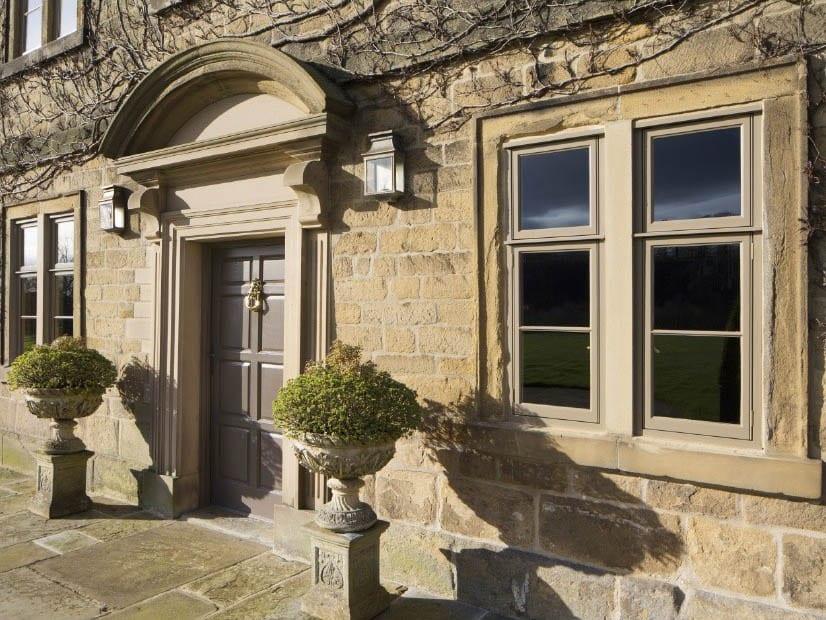 longmoor detail of heritage windows and doors