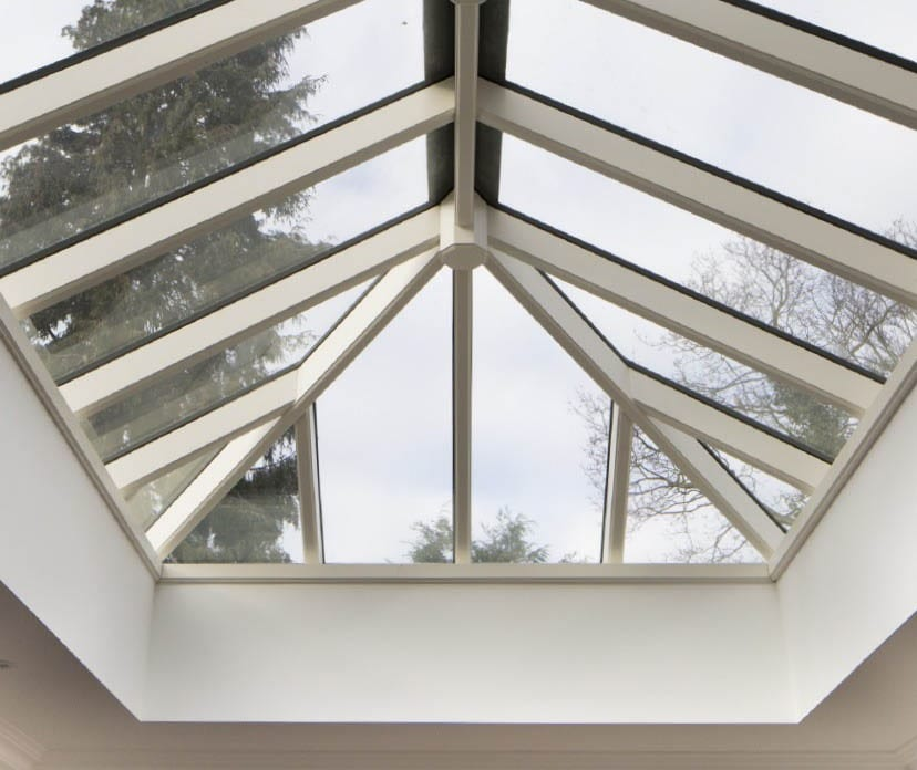 Orchard Grove Roof Lantern shown in detail