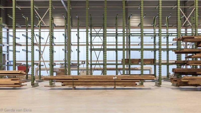 Accoya Windows manufacture plant