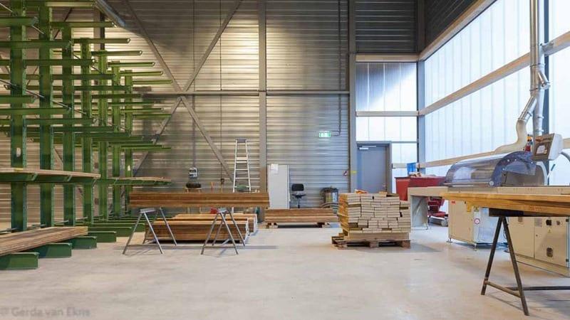 Accoya windows manufacture warehouse