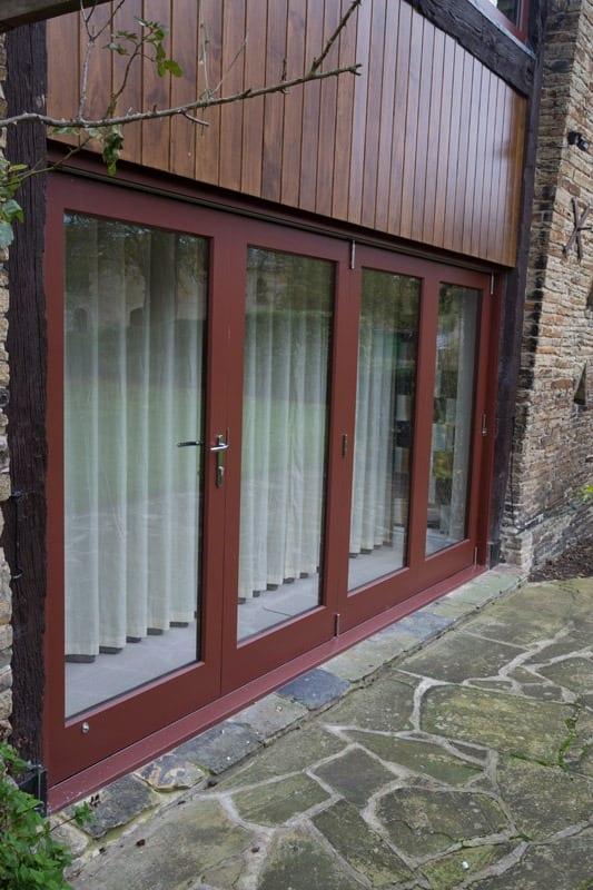 Bifold door - longer view