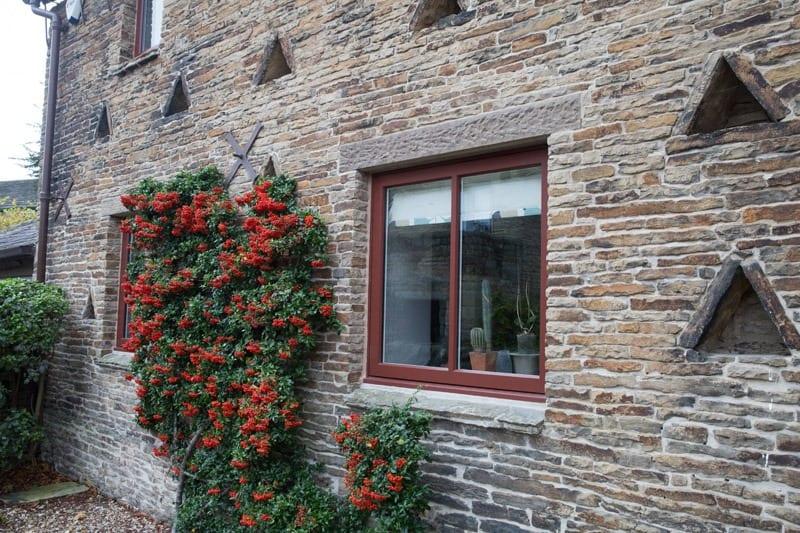 Study of hardwood casement window