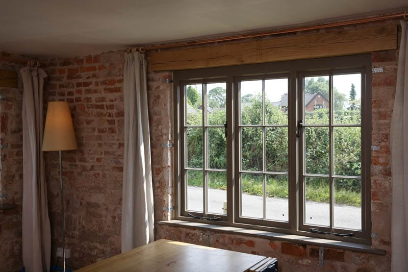 heritage casement window internal