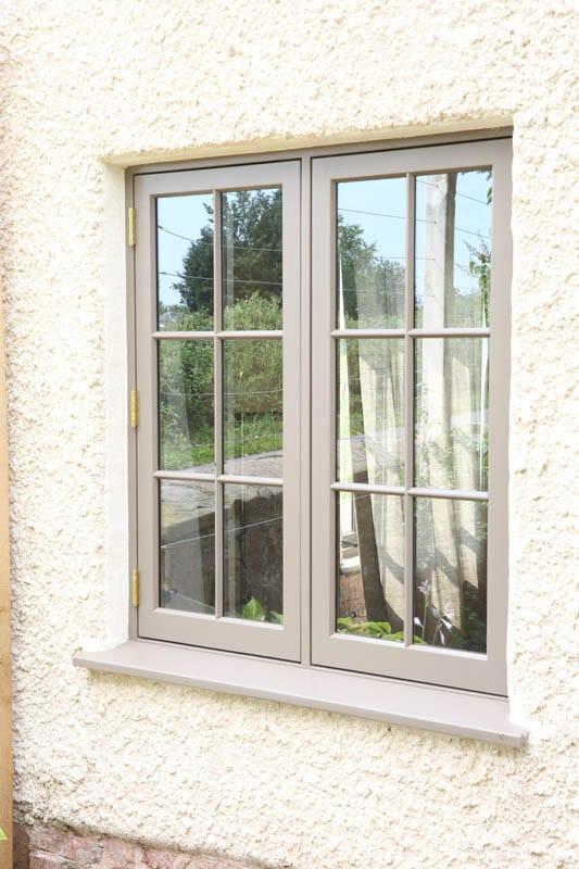 Heritage slim double glazing casement window at Colliers Oak Farm, FIlongley
