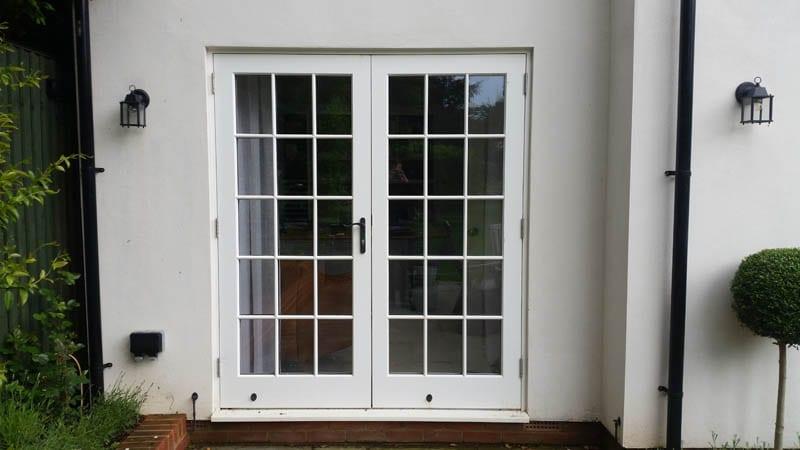 melbourne white accoya french doors