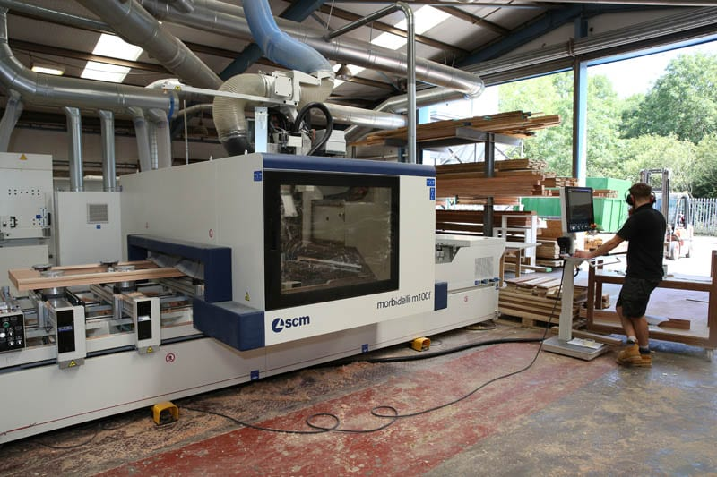 M100 CNC 5 axis Router Operator 2