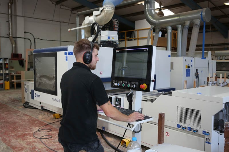 M100 CNC 5 axis Router Operator