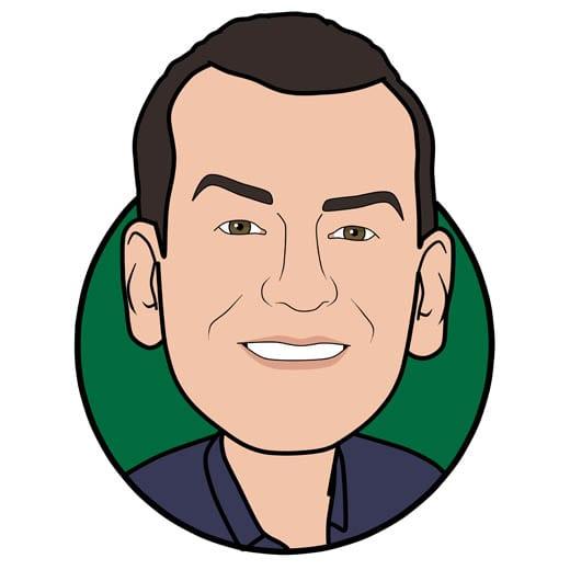 Cartoon image of Peter Brannan of Gowercroft Joinery wooden window manufacturer in Alfreton