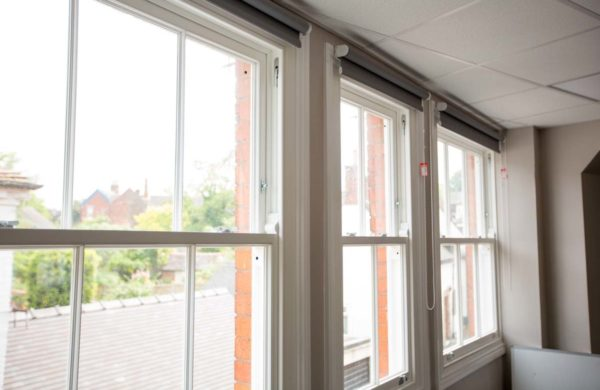 Winston sliding sash windows internal shot
