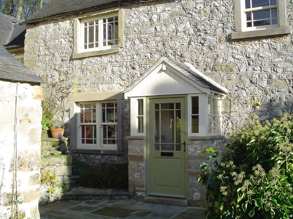 woolaton mock sliding sash windows off white stone double sash Melbourne single door marginal bars astragals porch