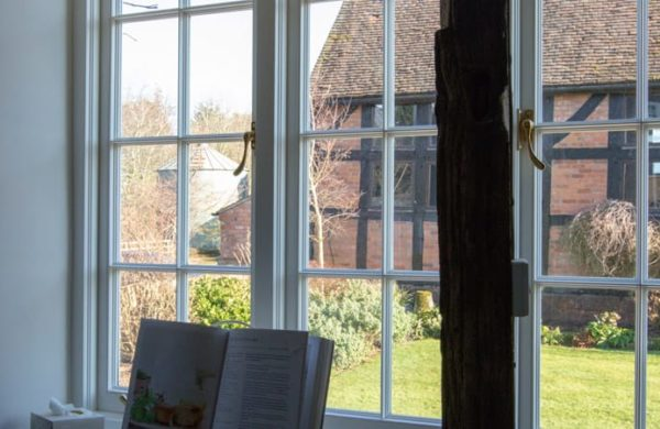 What is vacuum glazing? Pilkington Spacia vacuum double glazing fitted in a Gowercroft heritage window