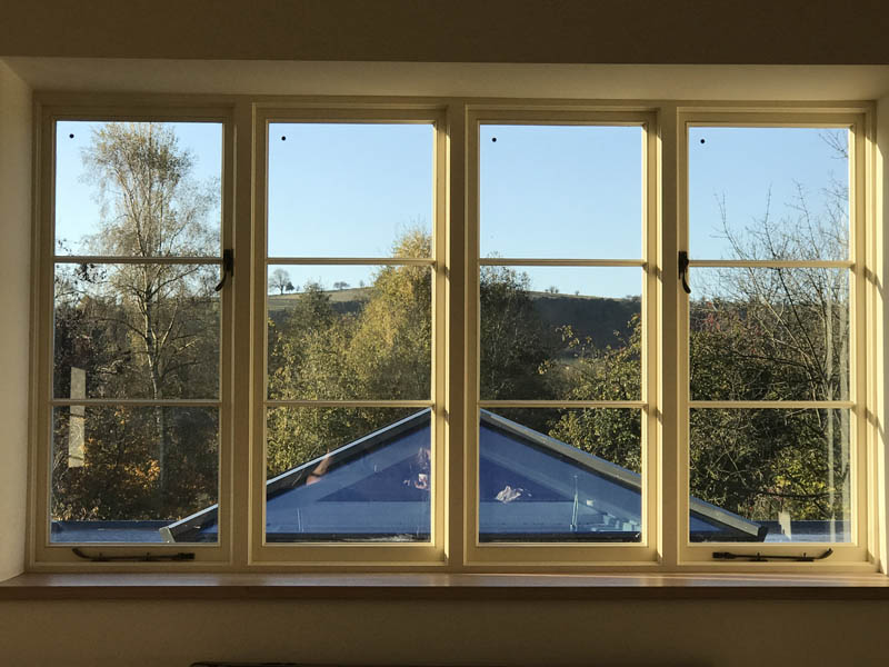 Windows in a Grade 2 Listed Building after replacement