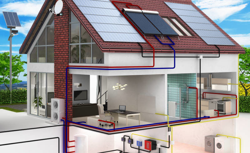 What are passive house windows an illustration of a passive house