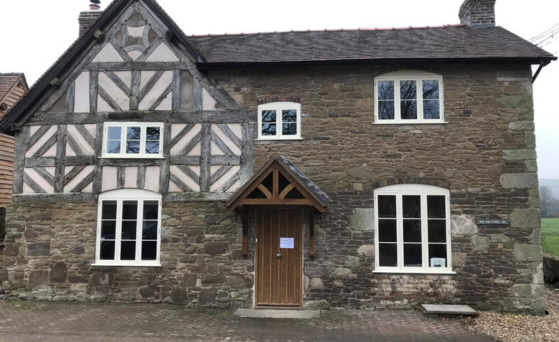 Listed building after renovation by the heritage window company Gowercroft