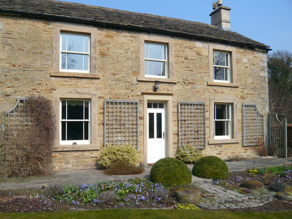 Modern Sash Windows in a traditional home