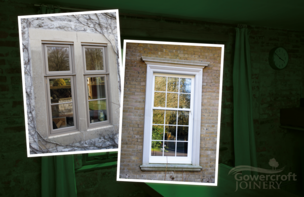 Difference between sash and casement windows